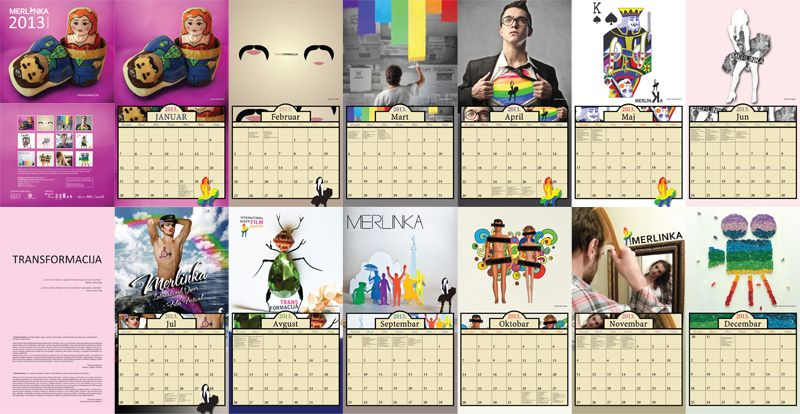 Kalendar sadrži 12 najboljih radova koji su pristigli na konkurs za